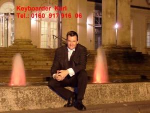 Keyboarder Karl Aktuelles Foto