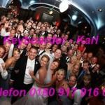 Dank Karte an Keyboarder Karl Hochzeit 2011 Düren