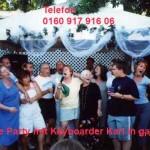 Karaoke Veranstaltung beim Grillfest in Mönchengladbach Gartenkolonie
