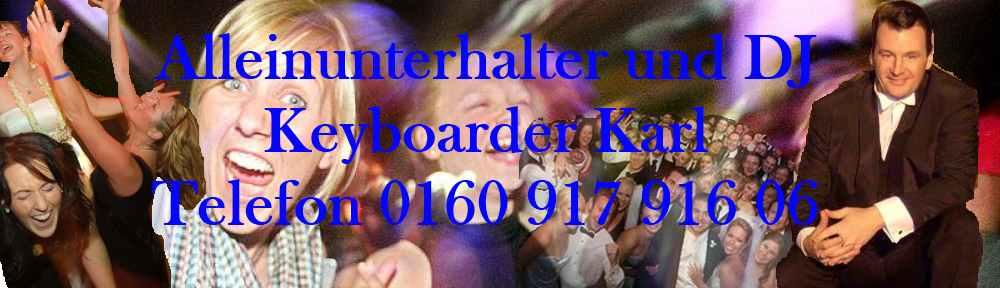 Alleinunterhalter Aachen ♥ Party DJ Aachen mit Live Musik und DJ