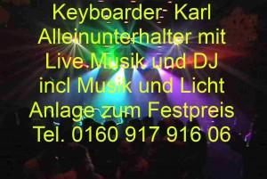 Party Dj Würselen mit Live musik und Alleinunterhalter Würselen