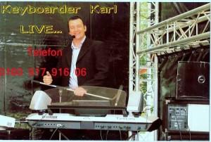 Dj Aachen Keyboarder Karl Musiker und DJ Aachen