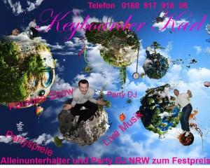 Alleinunterhalter Aachen Hochzeit mit Keyboarder karl Musiker Aachen Musikduo Aachen