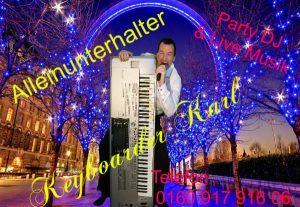 Alleinunterhalter Aachen mit Live Musik und Dj Aachen in the Mix für Hochzeit, Geburtstag Stadtfest und Firmen Feier