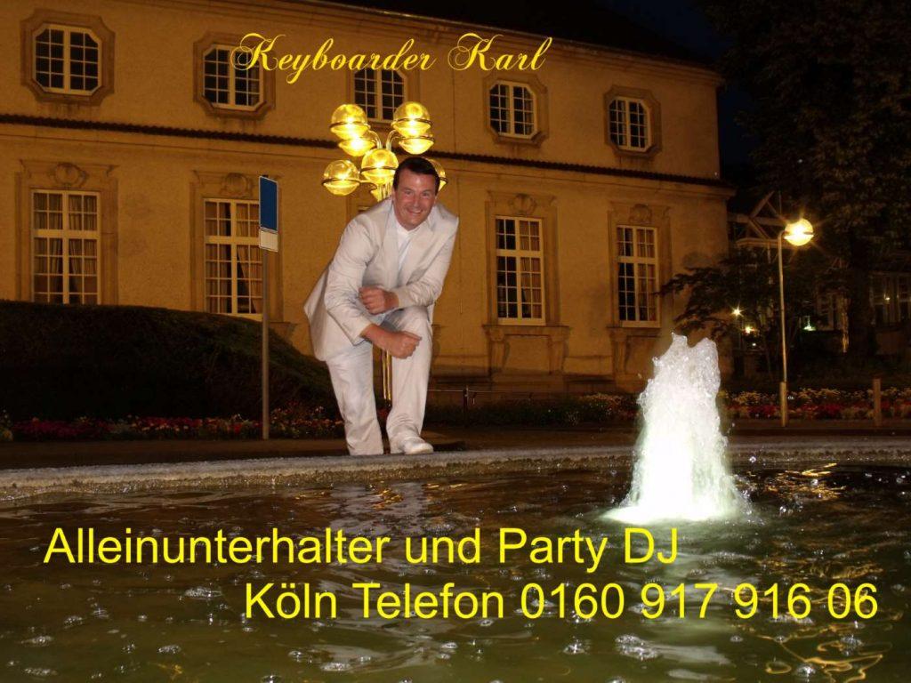 Hochzeits DJ & Alleinunterhalter mit Live Musik und DJ für Hochzeit, Geburtstag, Schützenfest und zum Beispiel Stadtfest in NRW hier buchen