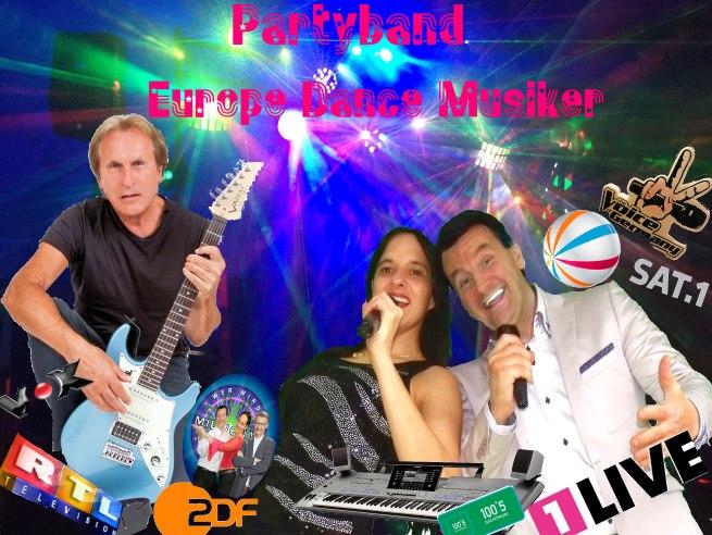 Europe Dance Musiker - Coverband Partyband Köln Bonn Düren Aachen Krefeld Duisburg Leverkusen Euskirchen Bochum Mönchengladbach