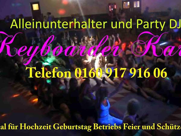Alleinunterhalter und Party DJ sowie Partyband aus NRW