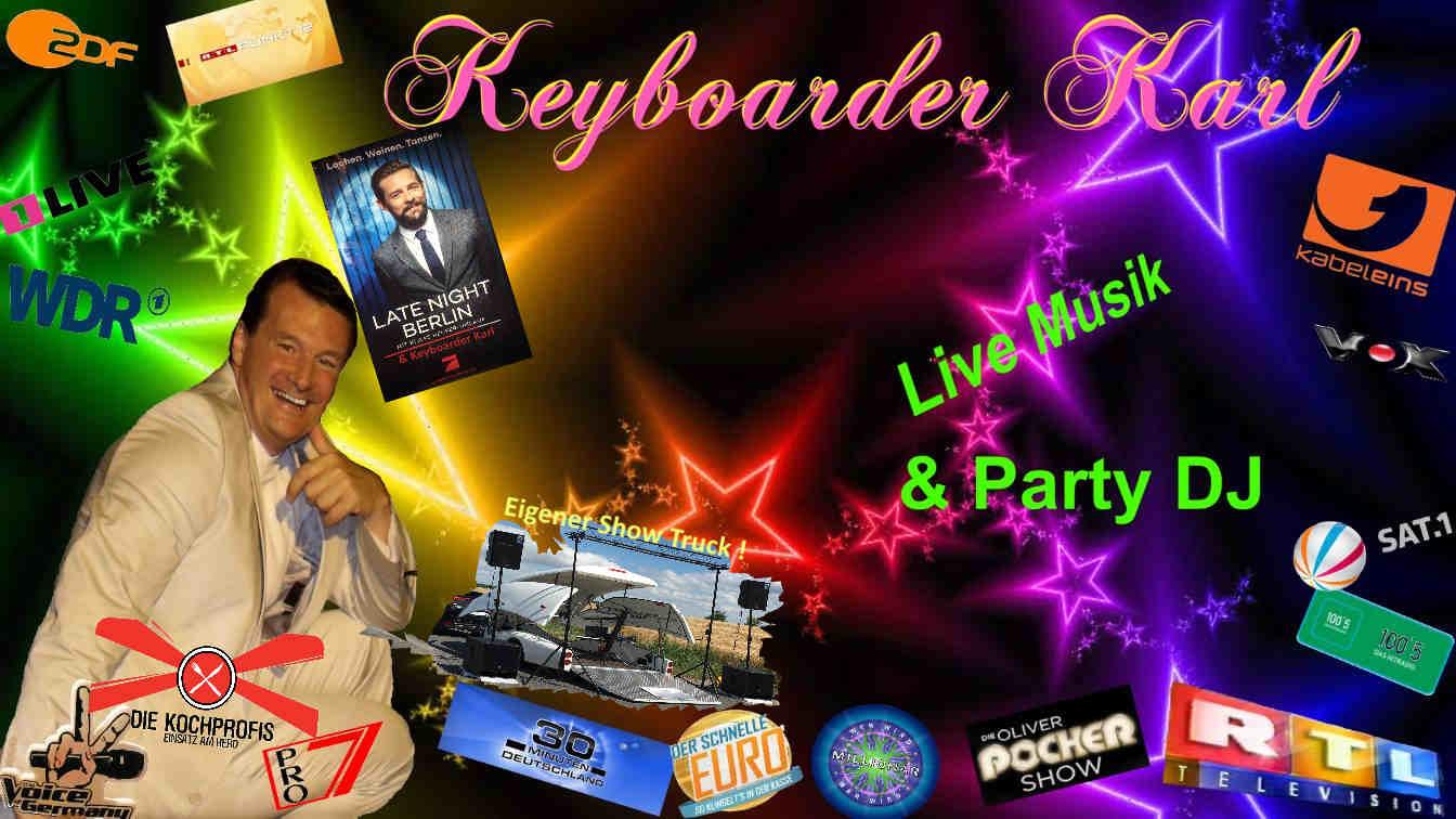 Alleinunterhalter NRW und Party DJ NRW